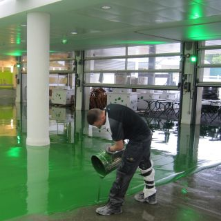 Robex Super Build Epoxy Liquid Floor Tile